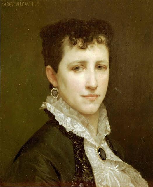 Адольф Вильям Бугро - Портрет мисс Элизабет Гарднер (1879)