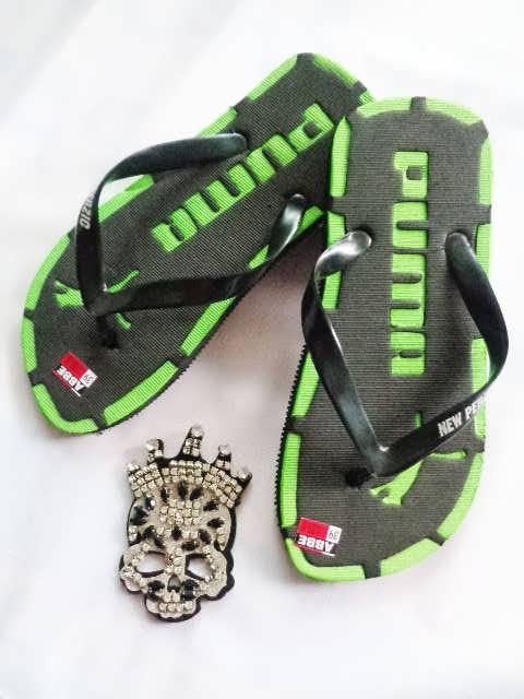 Sandal Murah Jepit Ferzic hijau