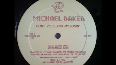 Michael Baker Dont You Want My Lovin