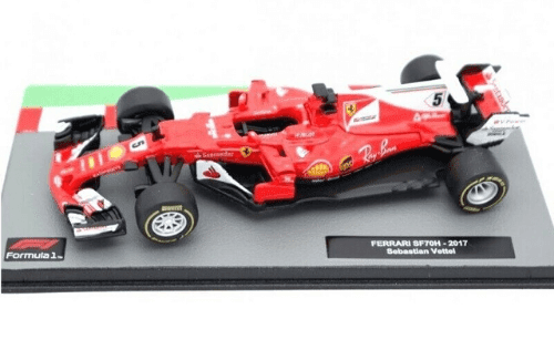 Ferrari SF70H 2017 Sebastian Vettel f1 the car collection