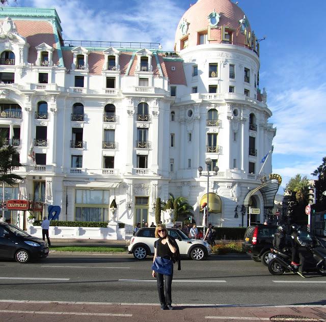 Знаменитый отель Негреско. Ницца.