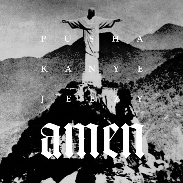 Pusha T - Amen (feat. Young Jeezy & Kanye West) - Single Cover