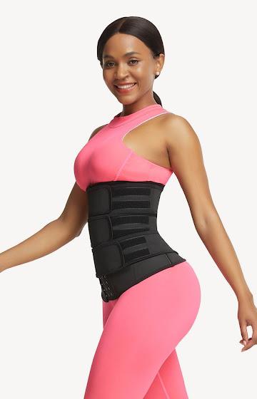 NeoSweat® Triple Belts with Hook Waist Trainer