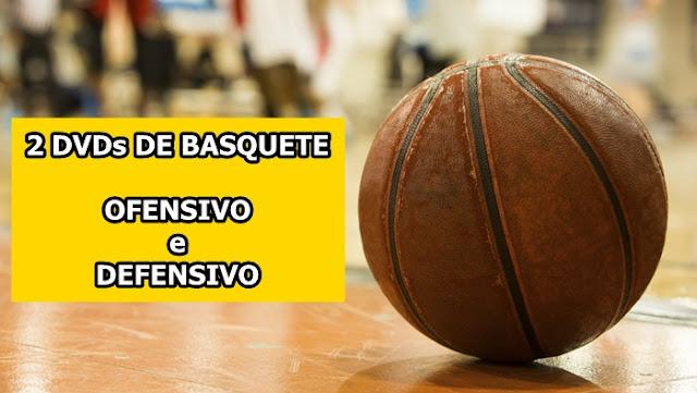 Promoção: DVD Duplo de Basquete - Ofensivo e Defensivo