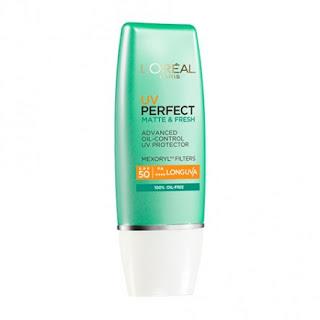 LOreal UV Perfect Matte & Fresh SPF50 Sunscreen 30ml Original L'Oreal Paris BPOM