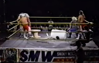 Smoky Mountain Wrestling - The Rock 'n' Roll Express faced The Moondogs