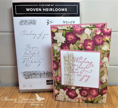 Woven Heirlooms, pressed petals, simple stamping, rhapsody in craft, art with heart