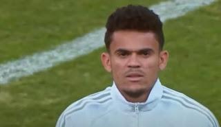 لاعب كرة القدم الكولومبي لويس فرناندو دياز