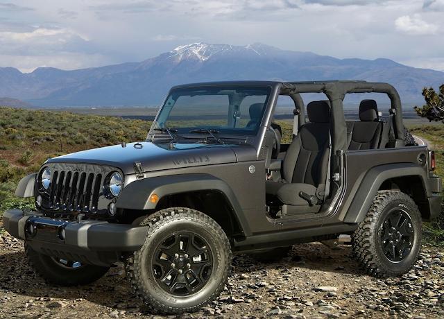 2015 Jeep Wrangler Willys
