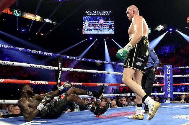 Tyson Fury Drops Deontay Wilder in Rematch