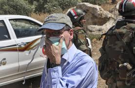 U.S. AMBASSADOR ROBERT FORD IS GOING BACK TO DAMASCUS; 3