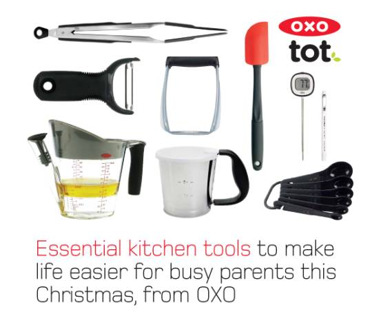 Oxo Which In The Past Year Has Launched Products Aimed At Babies And Tots Has Brought Out A Range Of Kitchen Tools To Make Christmas A Doddle For Busy