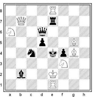 Problema de mate en 2 compuesto por Imanol Zurutuza (2º Recomendado, Memorial Bonivento 2013-14)