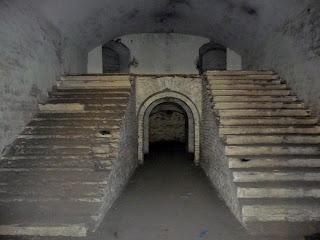 Тараканівський (Дубенський) форт. Сходи на другий ярус
