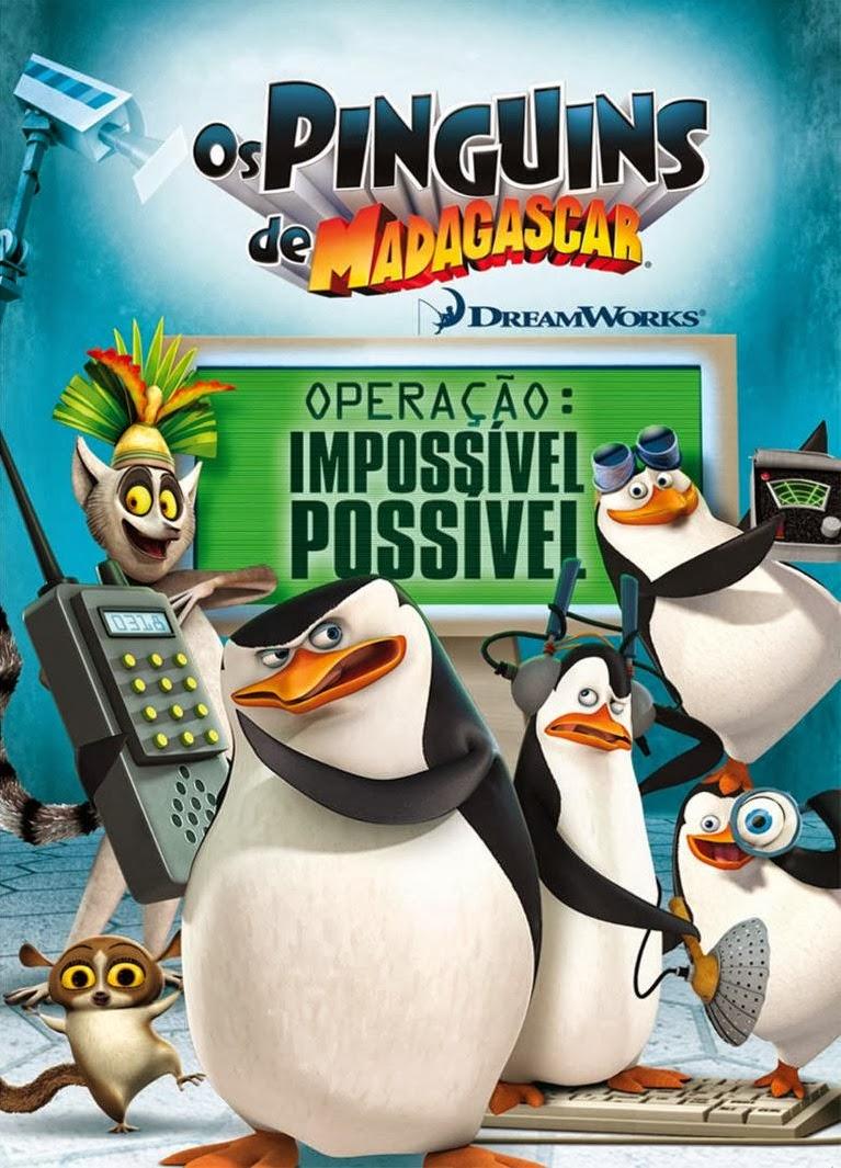 Os Pinguins de Madagascar: Operação: Impossível Possível – Dublado (2012)