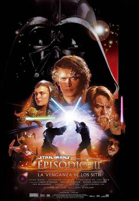 Cartel de La venganza de los Sith. Star Wars