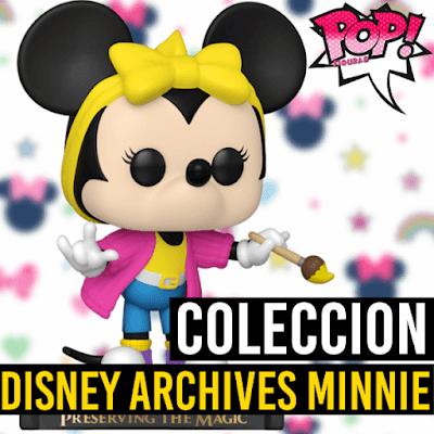 Lista de figuras Funko POP Disney Archives Minnie