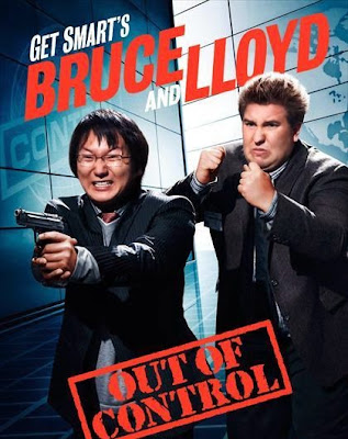 Poster Of Get Smarts Bruce and Lloyd Out of Control (2008) In Hindi English Dual Audio 300MB Compressed Small Size Pc Movie Free Download Only At worldfree4u.com