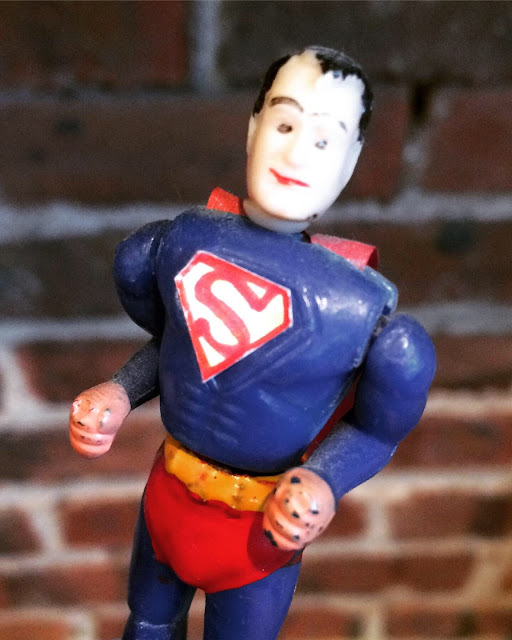 Kohner Superman push puppet