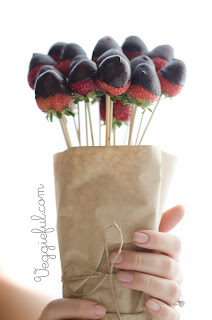 Vegan Chocolate Dipped Strawberries