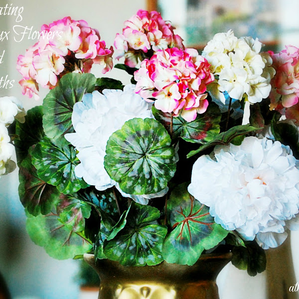 Decorating With Faux Flowers & Wreaths