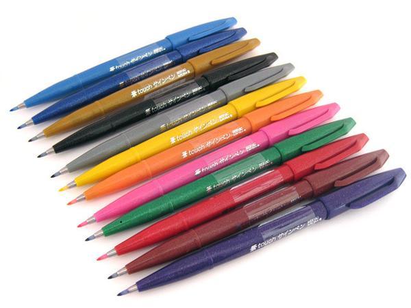 Pentel Touch Sign Pen
