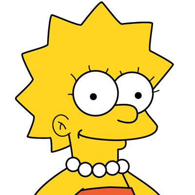 Los Simpson Personaje Lisa Simpson