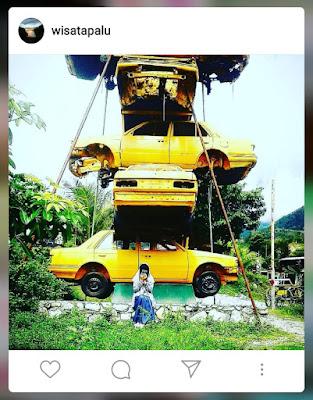 Destinasi instagramable kota palu