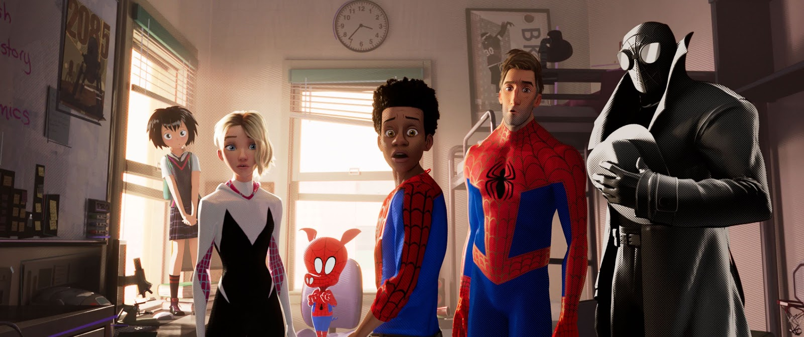 Aly Michalka Two And A Half Men Gif dell on movies: spider-man: into the spider-verse