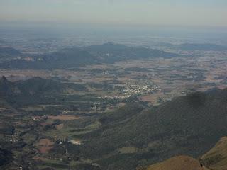 Vista das Cidades Catarinenses do Mirante da Serra da Rocinha, São José dos Ausentes