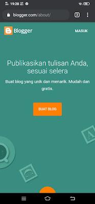Membuat website dari Blogger.com
