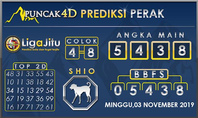 PREDIKSI TOGEL PERAK PUNCAK4D 03 NOVEMBER 2019