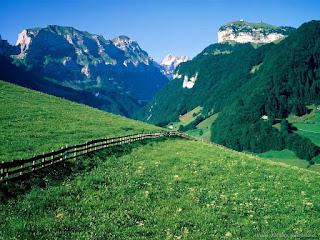تفسير الجبال الخضراء في الحلم