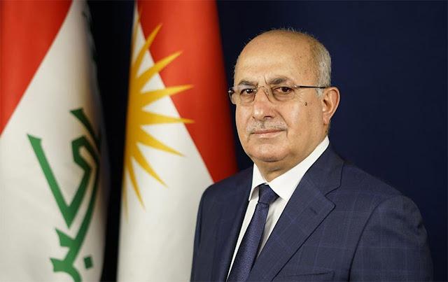 اصابة وزير في حكومة اقليم كردستان بفيروس كورونا.