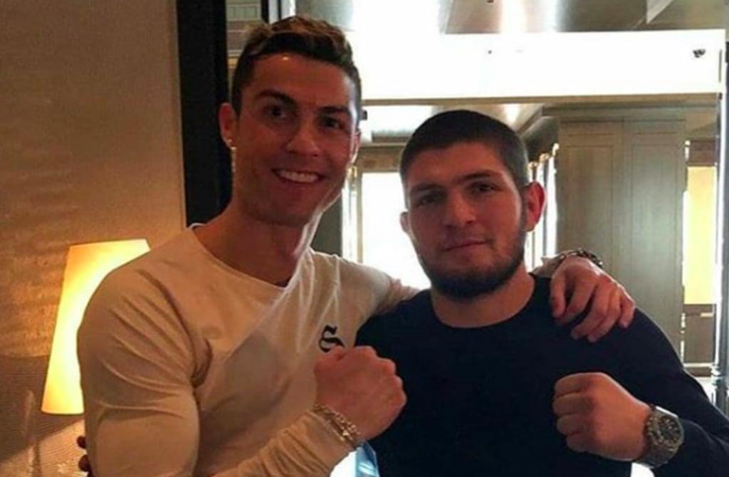 Dukung Khabib Lawan Gaethje, Cristino Ronaldo: InsyaAllah Menang!