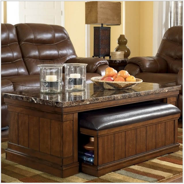 Coffee Table With Seating Storage