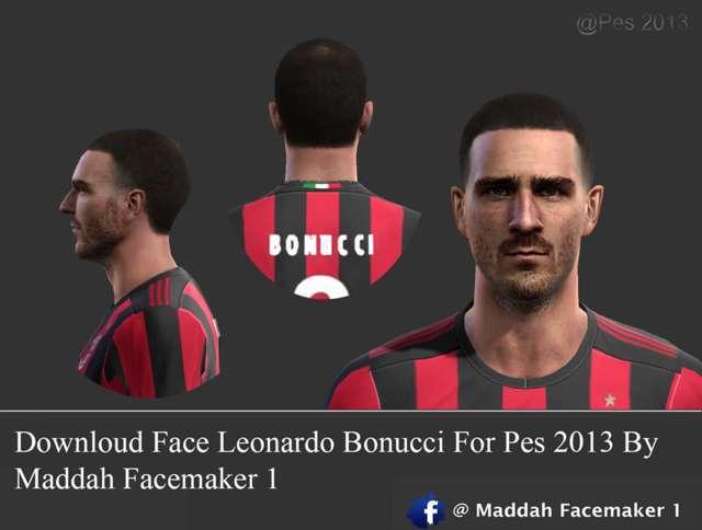 Leonardo Bonucci Face PES 2013