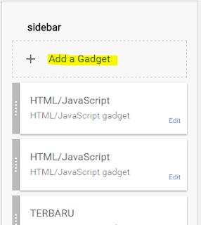 cara, pasang, widget, alexa, dalam, blog