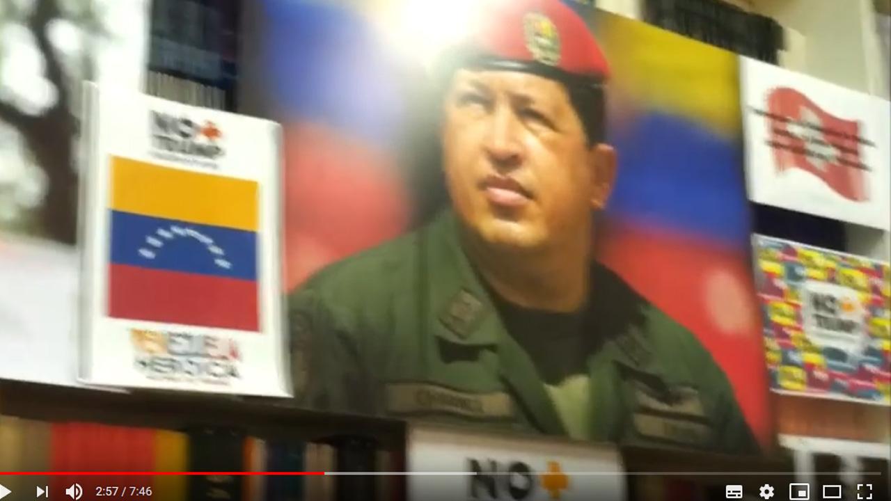 Jorge Arreaza, Canciller de Rep. Bolivariana de Venezuela-Eliécer Jiménez Julio