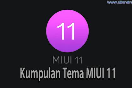 Kumpulan Tema untuk MIUI 11