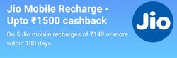 [ Loot] Paytm Jio Recharge Offer - Get Up To Rs.1500 Cashback On Jio Recharge