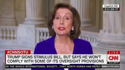 "Pelosi Tells Tapper Trump's ""Downplaying"" Has Already Cost American Lives"