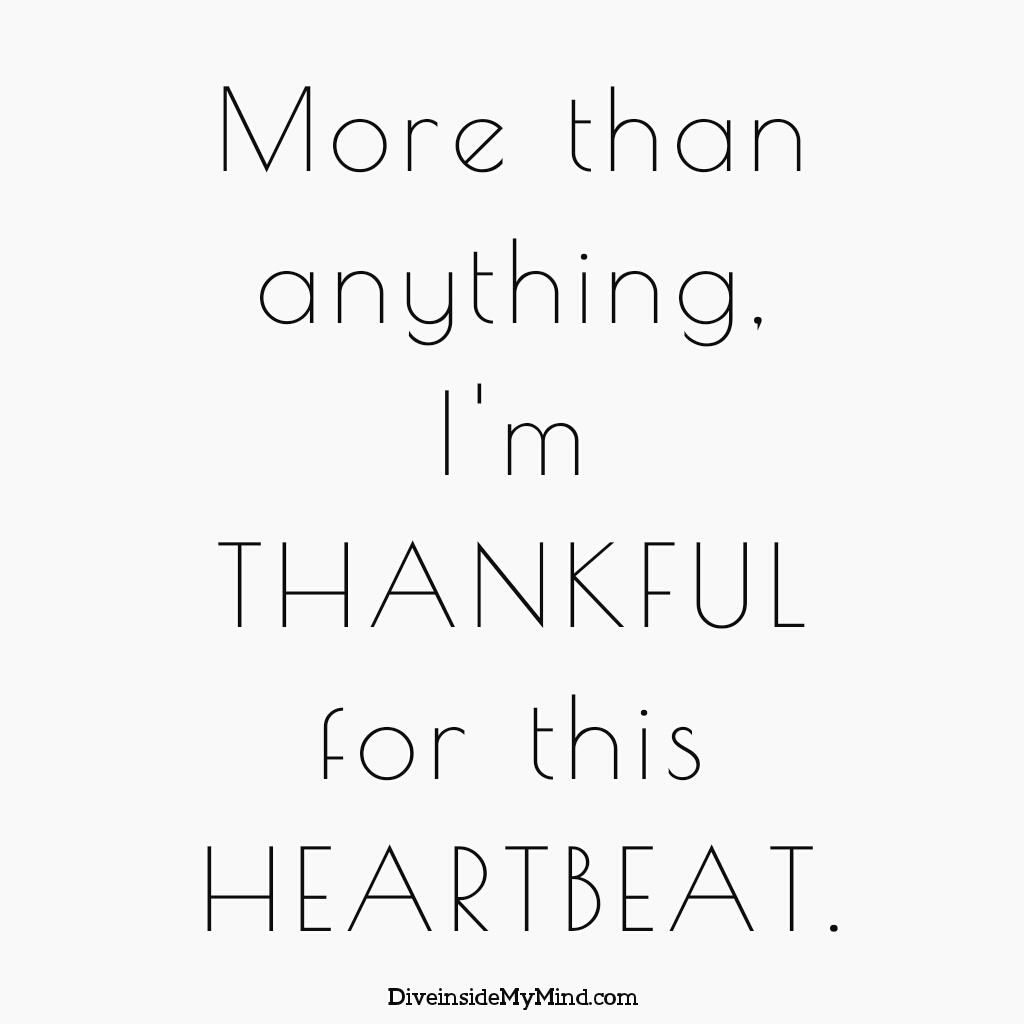 Dive Inside My Mind Thankful