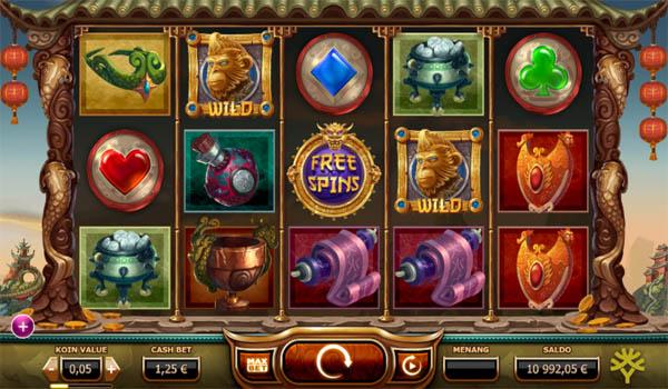 Main Gratis Slot Indonesia - Legend of the Golden Monkey Yggdrasil