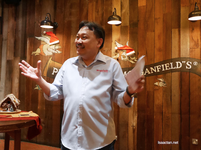 Dr Jeffrey Goh Sim Ik, Founder and Group Chief Executive Officer of Grand Century Restaurant Sdn Bhd,