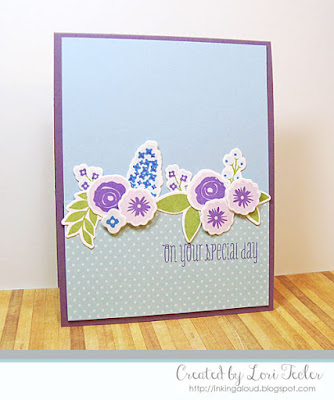 On Your Special Day card-designed by Lori Tecler/Inking Aloud-stamps and dies from WPlus9