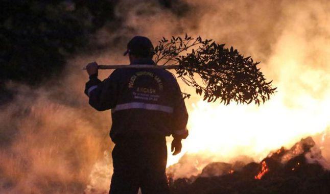 Reportan la primera muerte por incendios forestales en el norte del Perú