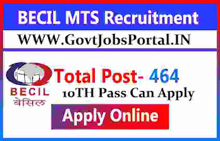 becil mts recruitment 2020