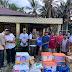 Pemda Pasbar Salurkan Bantuan pada Korban Kebakaran di Batang Biyu