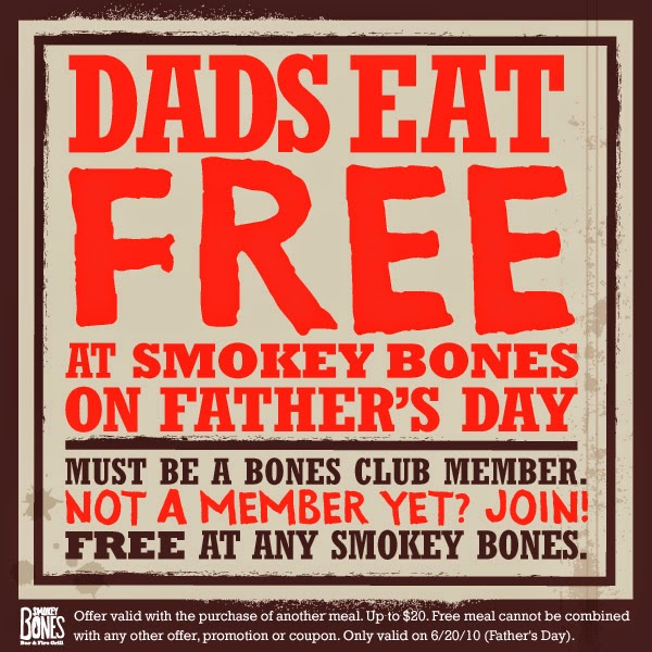 picture about Smokey Bones Coupons Printable identified as Smokey bones printable discount codes august 2018 : Specials inside las vegas